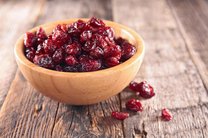 Homemade Dried Cranberries
